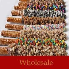 wholesale pretzel rods wholesale decorated pretzel rods dipped in rich chocolate