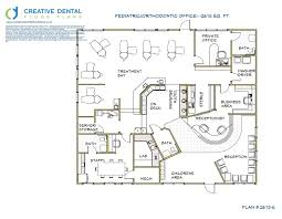Office Floor Plans Creative Dental Floor Plans Orthodontist Floor Plans