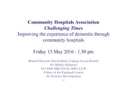 wedding programs wording exles the importance of community hospitals for dementia care