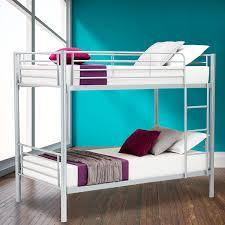 Metal Bunk Bed Ladder Dfm Twin Over Twin Metal Bunk Beds Frame Ladder Kids Adult
