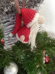 Amigurumi Christmas Ornaments - 98 best crochet tonttu nisse tomte kabouter images on pinterest