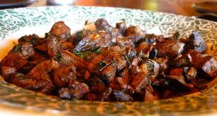cuisiner un chevreuil foie de chevreuil en persillade cook n roll