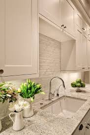 white backsplash white gray marble mosaic tile backsplash