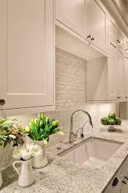 white backsplash 11 creative subway tile backsplash ideas kitchen