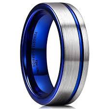 thin blue line wedding band thin blue line mens tungsten carbide wedding band ring matte