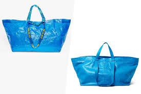 Iklea Ikea Responds To Balenciaga U0027s 2 145 Look Alike Tote Bag