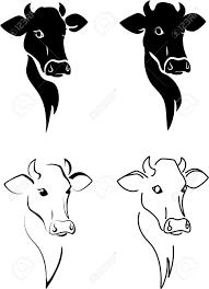 cow head silhouette google search pics pinterest cow head