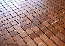 copper tiles for kitchen backsplash flexipixtile modern aluminum mosaic tile peel copper