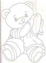 desenhos fraldas ursinhos teddy bear bears embroidery