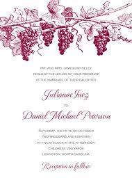 winery wedding invitations winery wedding invitations paperwhites wedding invitations