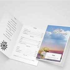 same day funeral program print service funeral templates