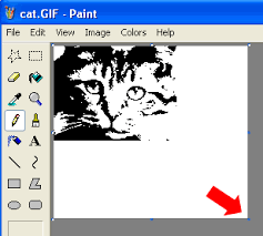 creating rubber stamp graphics part 1 microsoft paint