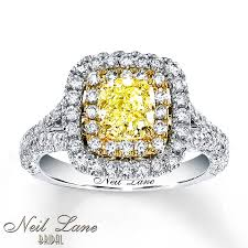 Neil Lane Wedding Rings by Jared Neil Lane Diamond Ring 2 Ct Tw Yellow White 14k White Gold