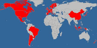 countries visited map visited countries map syrup1934 says places i lived flickr