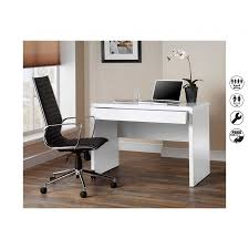 Small Writing Desk With Drawers by Luxor Gloss Workstation Desk With Hidden Drawer White Home