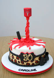 gravity defying nail polish and leopard print cake sweet nothings