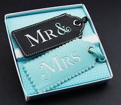 wedding luggage tags fabulous wedding gifts with a personal touch