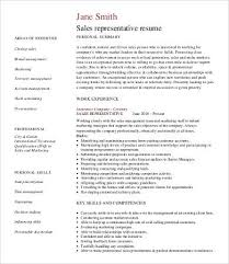 Sales Representative Resume Examples by Professional Resume Samples 9 Free Word Pdf Documents Download