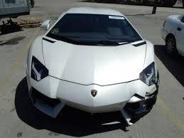 lamborghini aventador lp700 4 for sale export salvage 2013 lamborghini aventador lp700 4 white on black