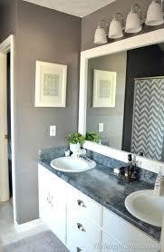 Large Bathroom Mirror Frames Frame Bathroom Mirror Kit Northlight Co