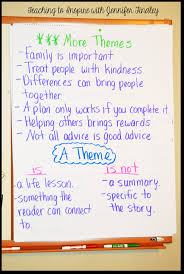 teaching theme in the upper grades and a freebie teaching to