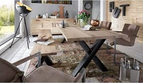 X Leg Dining Table Woodstock Dining Table