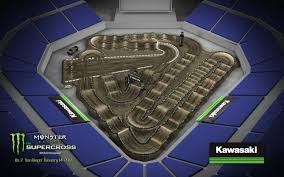 Petco Park Map 2017 San Diego Sx Track Map Transworld Motocross