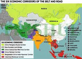 Map Of Pakistan And India by Trishul Is It Really Cpec Or Is It China U0027s Karakoram Corridor