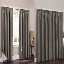 Noise Reduction Drapes Wraparound Sierra Room Darkening Noise Reducing 2 Pack Window
