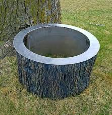 Fire Pit Liners by Fire Pit Liners Flage Rim Top