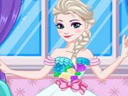 elsa wedding dress design play the game online