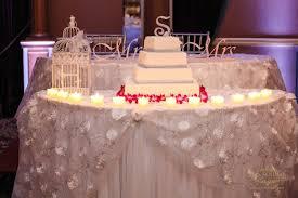 Wedding Cake Table Jewish Interfaith Wedding At The Sands At Atlantic Beach Ny