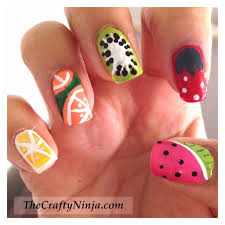 the sparkle queen top 50 summer nail art ideas craftyninja u0027s