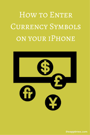 best 25 currency symbol ideas on pinterest american dollar learn how to enter currency symbols on your iphone that are other than the currency symbol