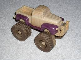 Plans For Wood Toy Trucks by Dempsey Woodworking Monster Truck