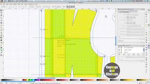pattern grading easy ragbags and gladrags made by the sea inkscape pattern grading