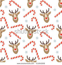 flat christmas wrapping paper seamless flat christmas pattern candy stock vector 511645936