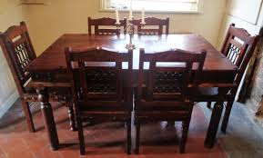 indian wood dining table indian dining table and chairs second hand household furniture
