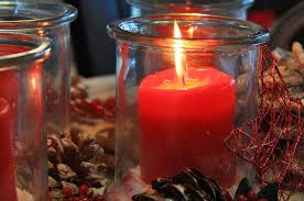 tree scented candle prep