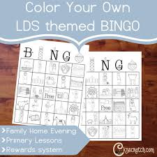printable thanksgiving bingo color your own lds themed bingo u2014 chicken scratch n sniff