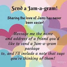 send a gram s day jam a gram send your favourite friend or