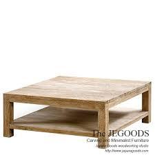 White Wash Coffee Table - gerobak coffee table industrial wheeled cart meja gerobak roda besi