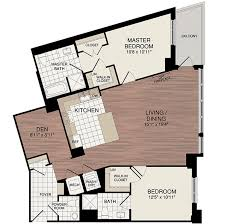 2 Bedroom Condo Floor Plan New Condos In Dcs Noma The Lexicon Condominium