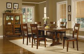 oak dining room furniture sets modern style casual dining room furniture with urban mission oak