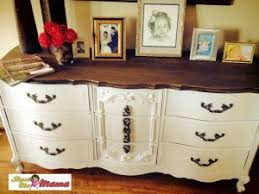 before and after french provincial dresser buffet u2013 showmemama com