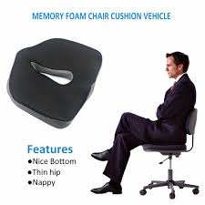 valuetom memory foam chair pads coccyx low back seat cushion