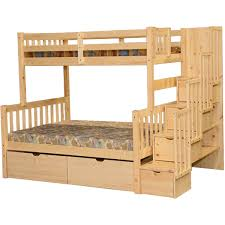Staircase Bunk Beds Twin Over Full by Staircase Bunk Beds Twin Over Full Bunk Beds With Stairs