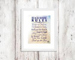 beach sign saying quote beach house rules beach