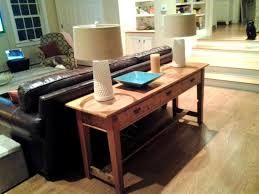 Decorating Sofa Table Behind Couch by Bedroom Lovable Turtles And Tails Diy Sofa Table Behind Against