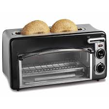 Can Toaster Oven Be Used For Baking Hamilton Beach Toastation Toaster U0026 Oven Black 22708